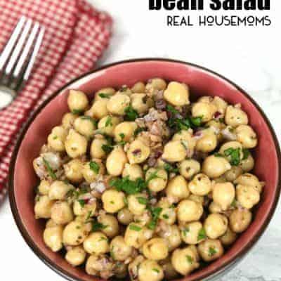 Italian Ceci Bean Salad