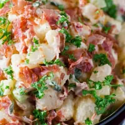 Italian Prosciutto Potato Salad