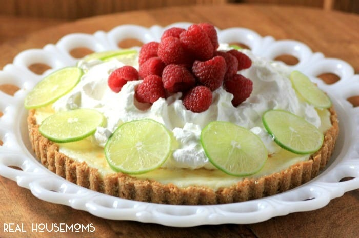 Our KEY LIME TART will awaken your senses again and make you look forward to spring!