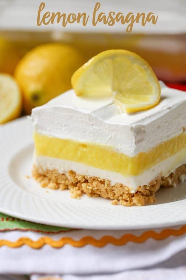 Lemon Lasagna - Lil' Luna