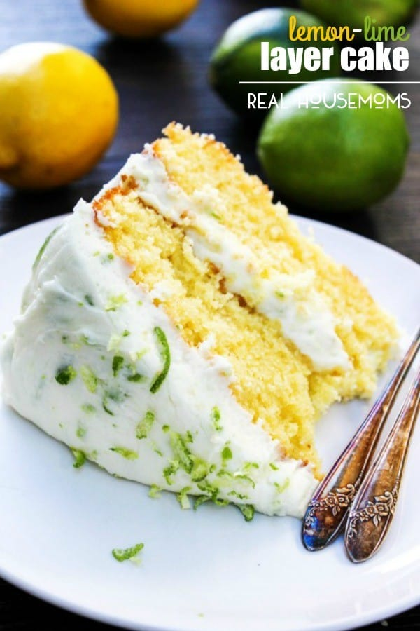 Lemon-Lime Layer Cake - Real Housemoms
