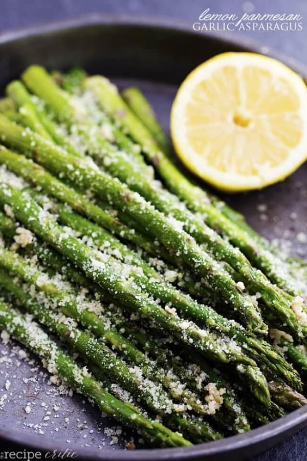 Lemon Parmesan Asparagus - The Recipe Critic