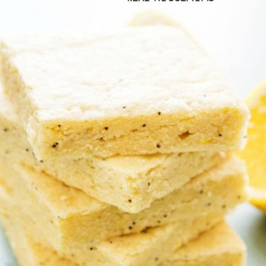 Lemon Poppy Seed Sugar Cookie Bars