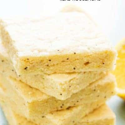Lemon Poppy Seed Sugar Cookie Bars