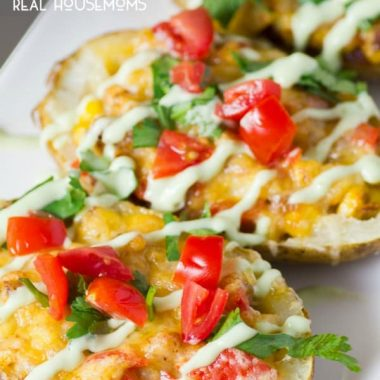 Loaded Mexican Potato Skins