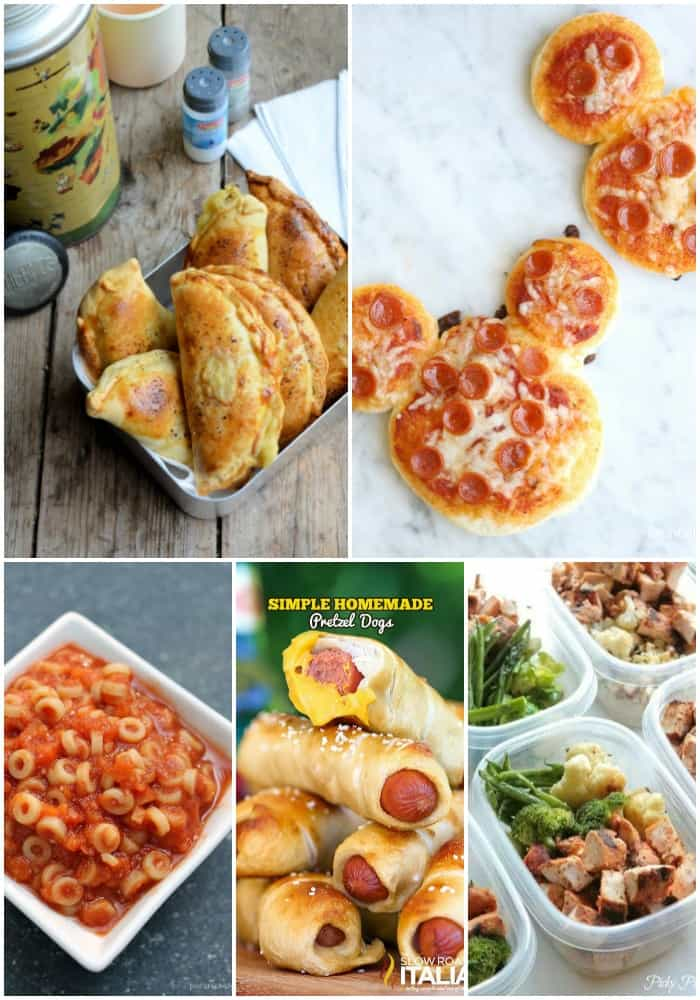 Make the morning rush a little easier with these 25 BACK TO SCHOOL LUNCH BOX IDEAS! They're easy to make and kids love 'em!