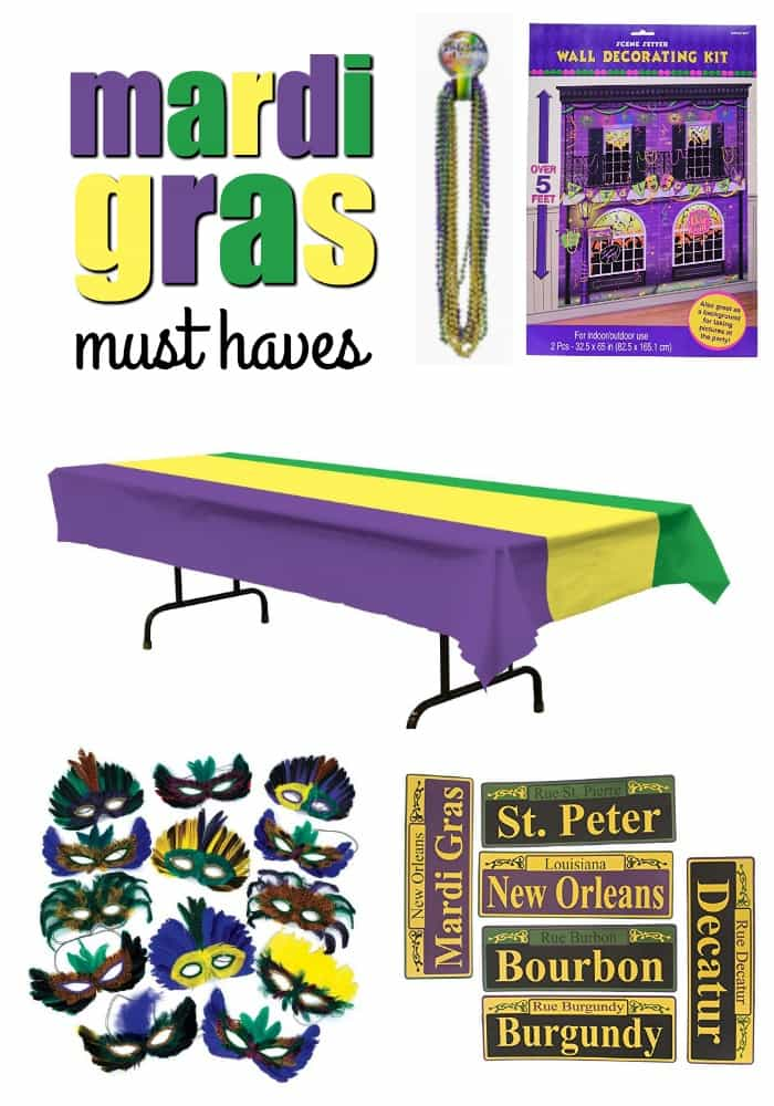 Mardi Gras Must Haves | Real Housemoms