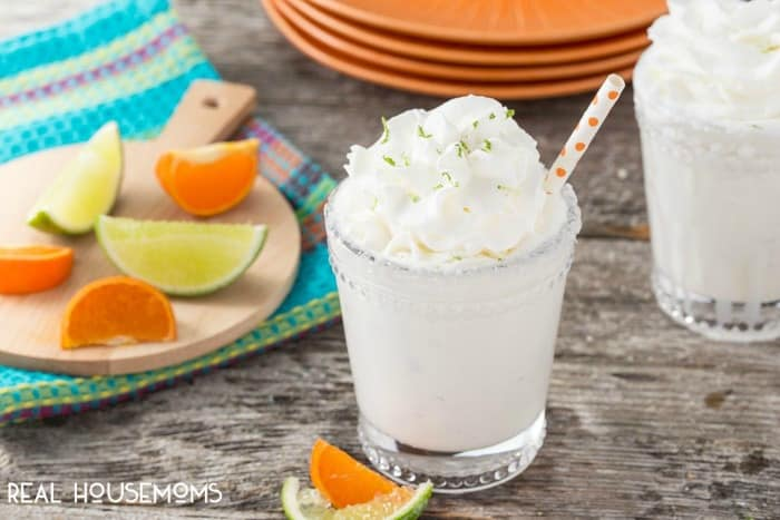 This MARGARITA MILKSHAKE is for the adults! Enjoy anytime you want a cool, refreshing tasty beverage with a kick. It doesn't need to be 5 o'clock!