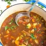 Mexican Beef and Vegetable Soup