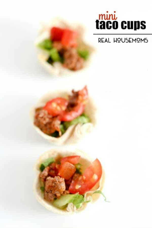 MINI TACO BITES are a simple and delicious finger food that is great for any party or gathering!