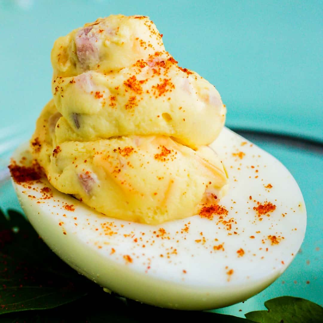 These Mississippi Sin Deviled Eggs take two southern classics and turn them into one amazing appetizer!