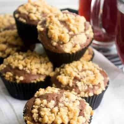 Mocha Crumb Muffins
