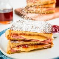 A sweet, savory, scrumptious ham and cheese sandwich like no other! This easy Monte Cristo Sandwich will make your breakfasts and brunches extra special!