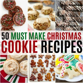 It's time to start baking for our annual Christmas cookies plates! I'm getting lots of inspiration from these 50 Must Make Christmas Cookies!