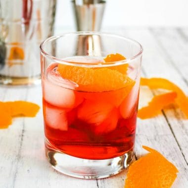 Take a step back in time and try this Negroni. Made with simple ingredients, this smooth citrus libation is perfect for sipping whenever the mood strikes!