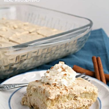 No-Bake Cinnamon Tiramisu
