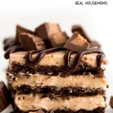 No-Bake Peanut Butter Icebox Cake