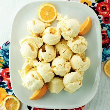No Churn Lemon Meringue Pie Ice Cream