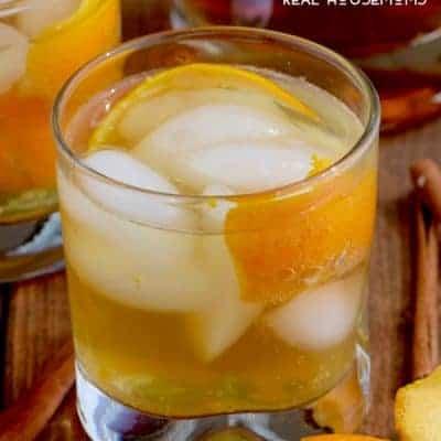 Orange Spice Old Fashioned