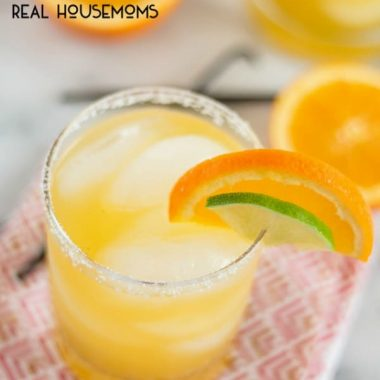 Orange Vanilla Bean Margaritas