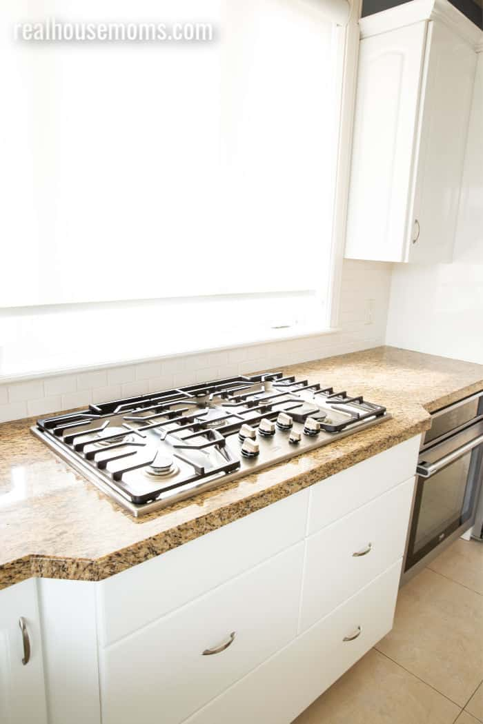 Beko built in gas cooktop with 5 burners