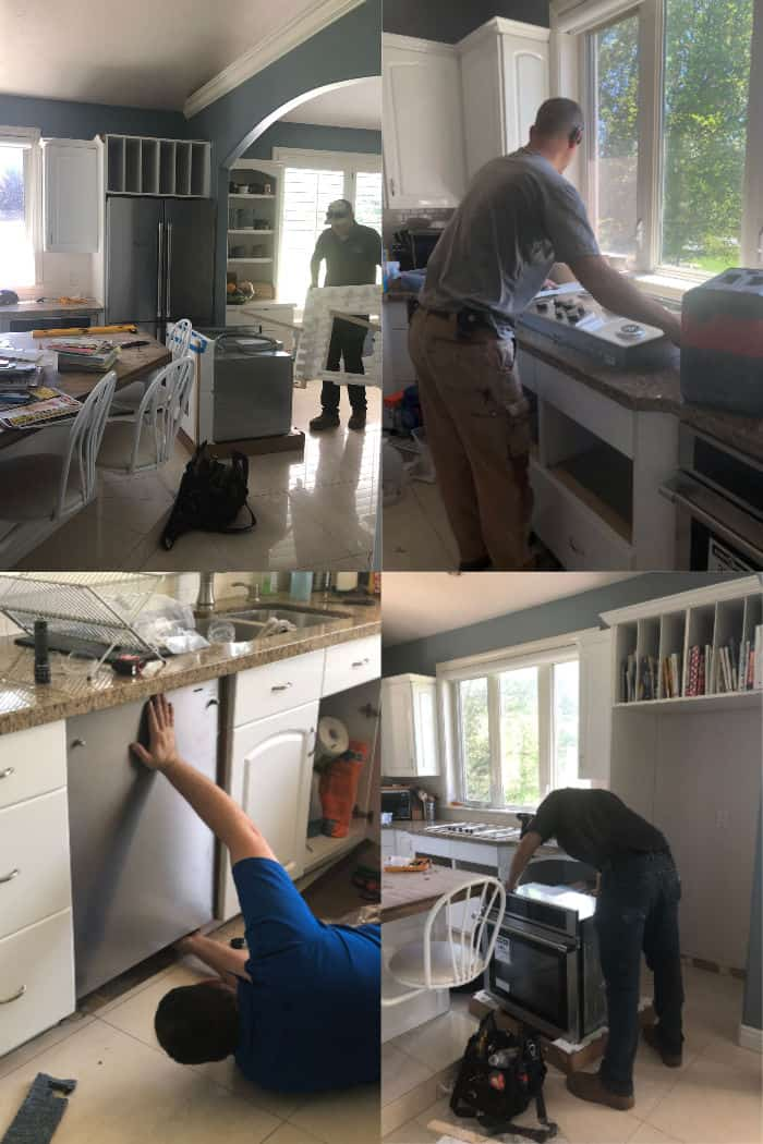 Beko appliance installation from Hutch's Home Furnishings