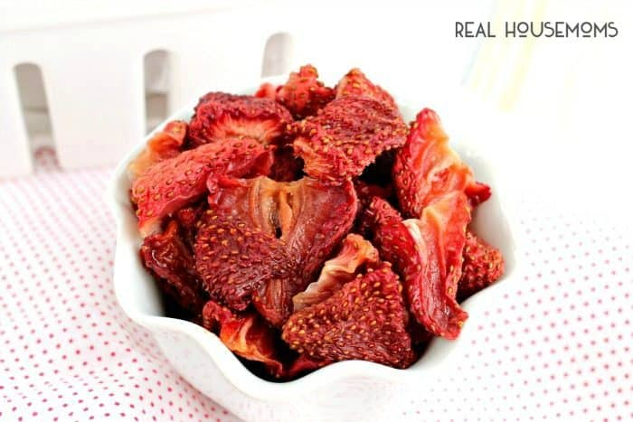 These easy OVEN DRIED STRAWBERRIES are the perfect way to preserve those sweet summer strawberries!