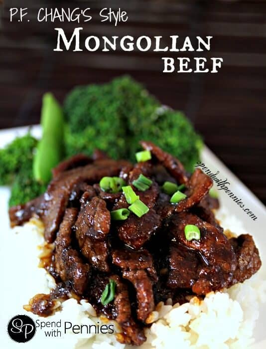 P.F. Changs Style Mongolian Beef - Spend with Pennies