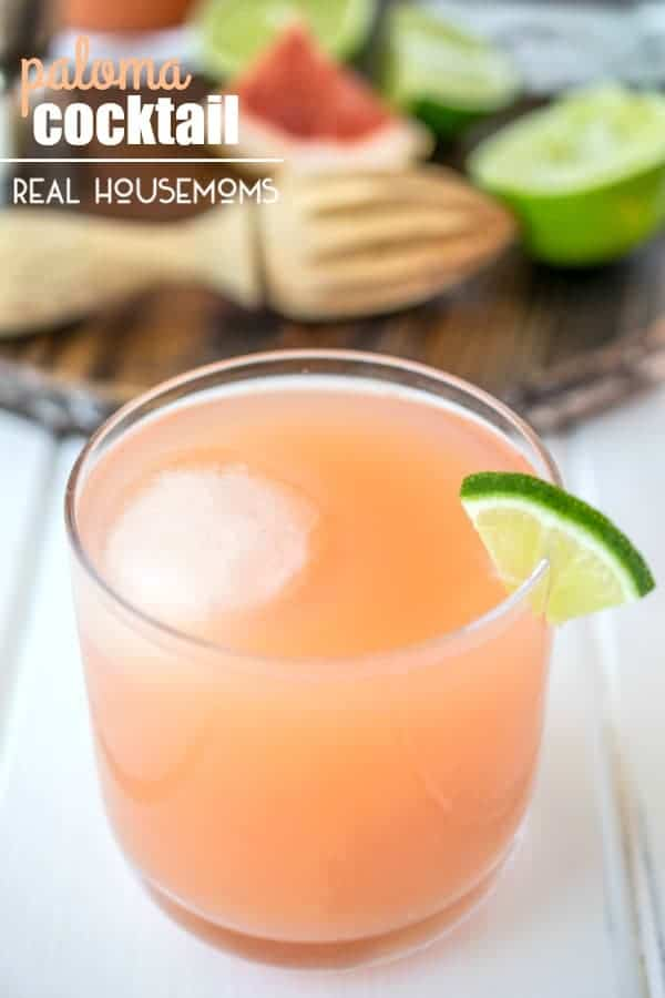 Very refreshing, a little sweet and slightly tart, this PALOMA COCKTAIL is the perfect drink to enjoy on those warmer evenings as the sun goes down!