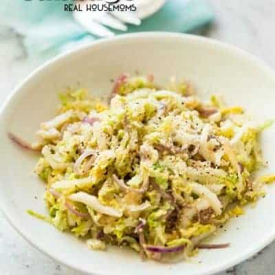 Parmesan Garlic Cabbage