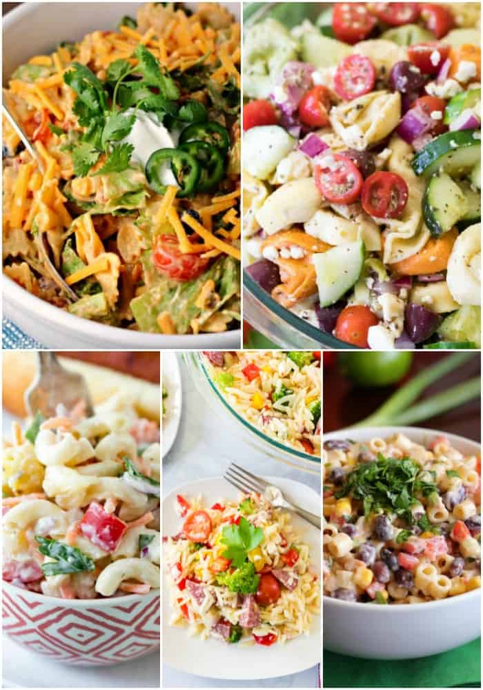 flavorful pasta salads