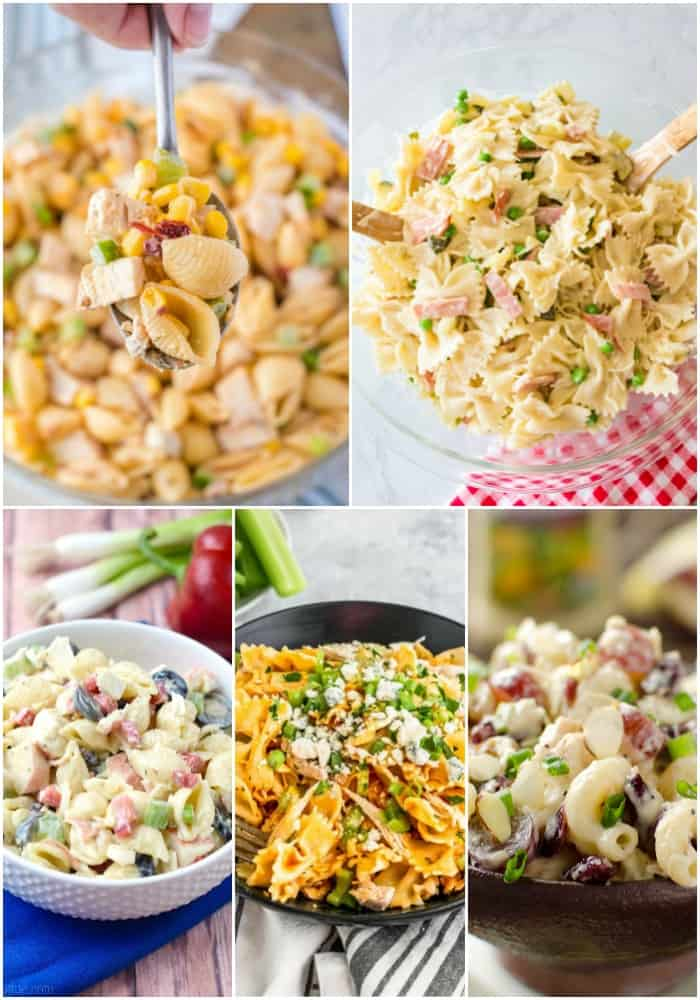 meaty pasta salads