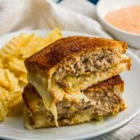 The Patty Melt Recipe is a diner classic and always hits the spot! This melty, cheesy, meaty sandwich is perfect for an easy dinner the whole family will love!