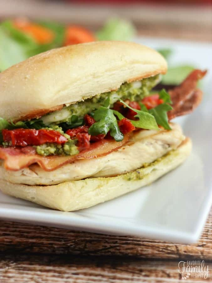 Pikey Chicken Sandwich - Favorite Family Recipes
