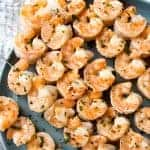 Pineapple Coconut Lime Shrimp Skewers