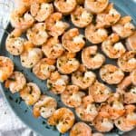 Pineapple Coconut Lime Shrimp Skewers are loaded with succulent and juicy shrimp, coated in a pineapple coconut lime marinade, and grilled to perfection. These tasty skewers will take your taste buds to the islands!