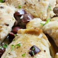 This PRESSURE COOKER LEMON CHICKEN is a quick and easy dinner with lots of bold, bright flavors!