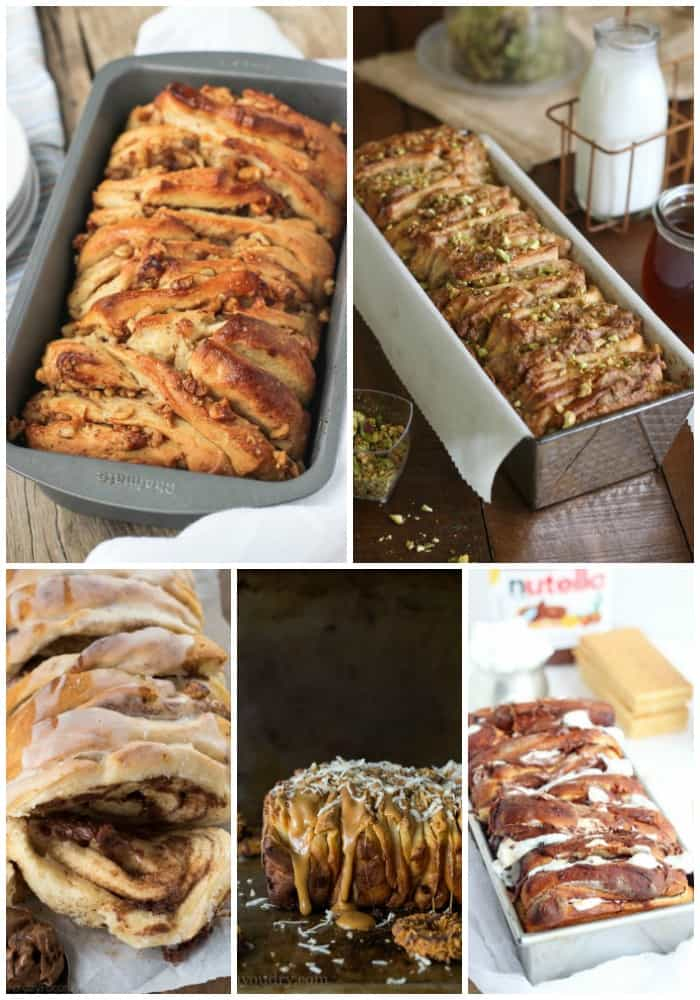 sweet pull apart bread recipes
