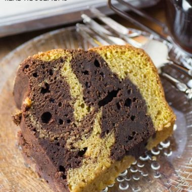 We are huge pumpkin fans and this PUMPKIN CHOCOLATE BUNDT is one of my favorite cakes for ease and deliciousness!