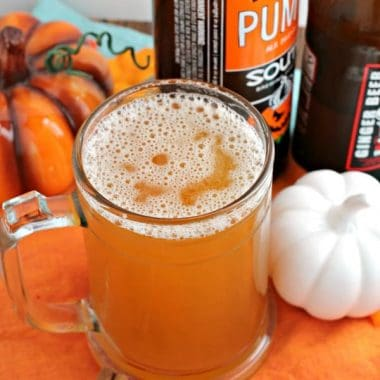Pumpkin Ginger Shandy