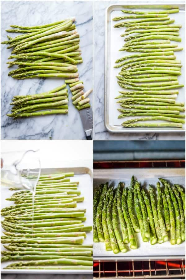 steps for making roasted asparagus
