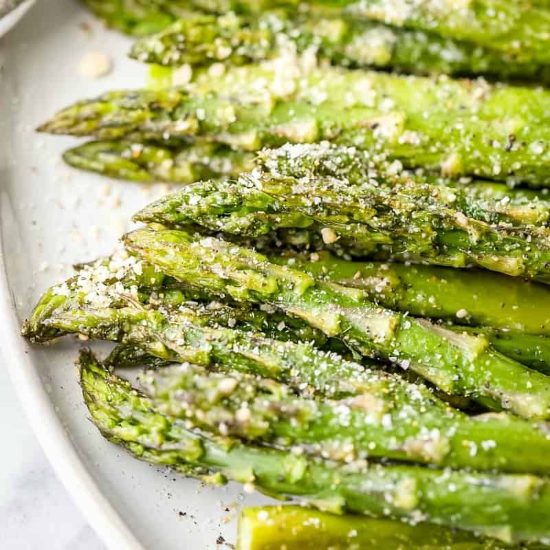 Roasted Asparagus is simple, easy, and a fresh, delicious side dish that will brighten all of your Spring and Summer meals!