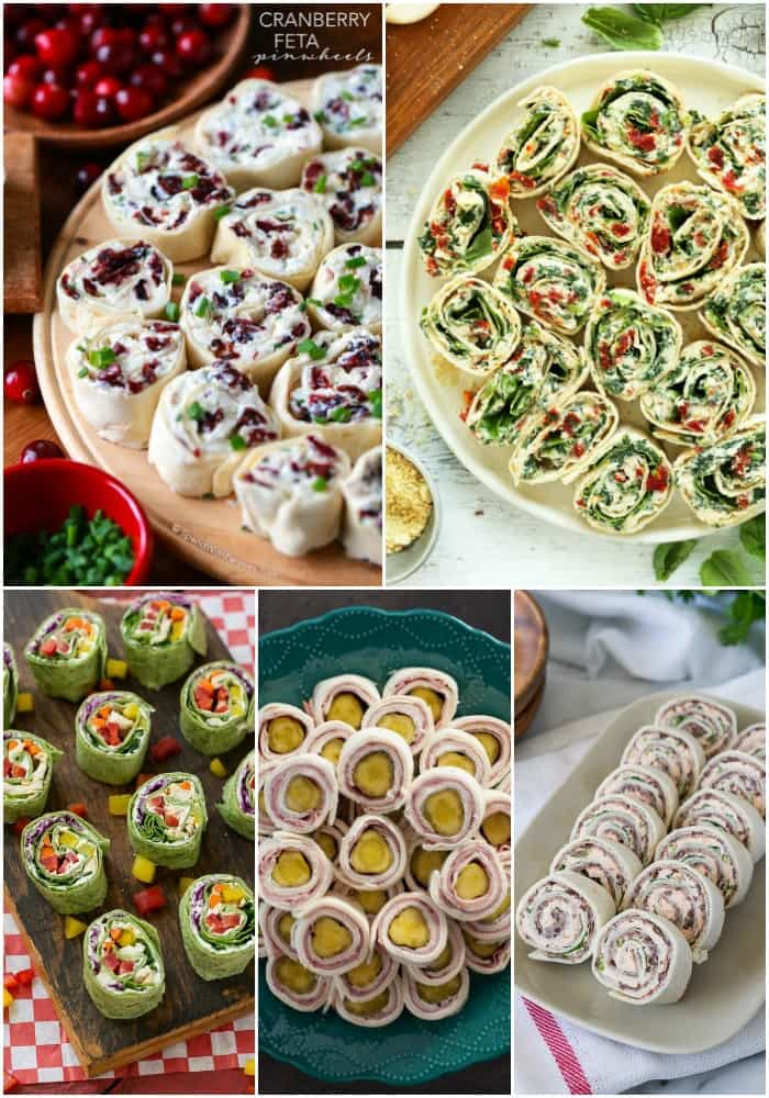 Finger foods and football games go hand in hand., and one of my favorite things to serve is pinwheel appetizers. These 25 Roll Ups for Game Day are sure to inspire your football party menu and make your crowd go wild!