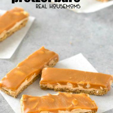 Salted Caramel Peanut Pretzel Bars