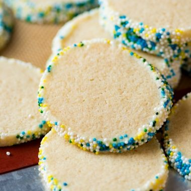 Slice and Bake Sugar Cookies
