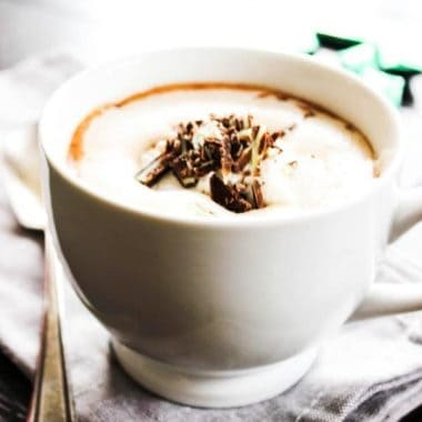 Slow Cooker Andes Mint Hot Chocolate