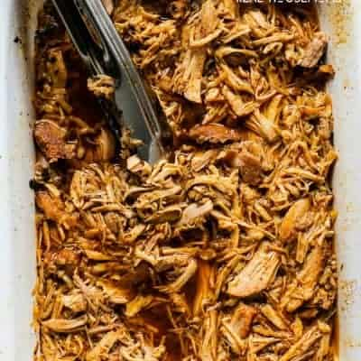 Slow Cooker Cherry Cola Pulled Pork