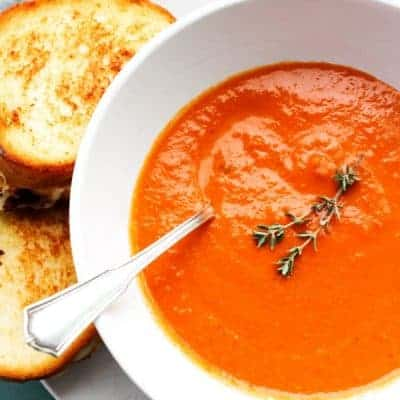 Slow Cooker Classic Tomato Soup