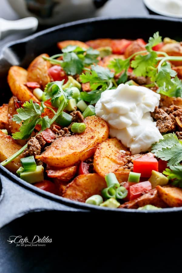 Smokey Mexican Beef Wedges - Cafe Delites