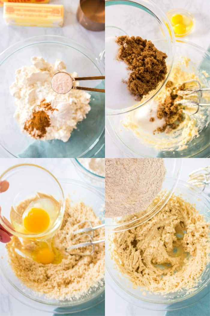 steps to make cookie bar batter